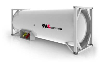 Contenedor 20 pies (25 m3) para el transporte de GLP – Amoníaco