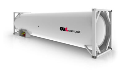 Contenedor 30 pies (39 m3) para el transporte de GLP – Amoníaco