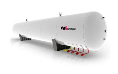 Depósitos estáticos para almacenamiento de GLP – Amoníaco