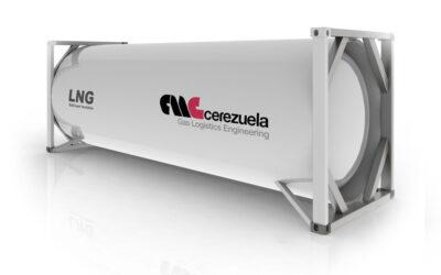 Contenedor 20 pies (20 m3) para el transporte de GNL – LIN – LOX – LAR – LOC2 – Etileno